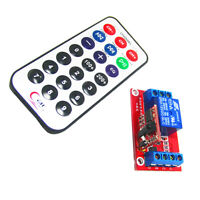 12V One Channel Relay Module Control Board with Remote Control for Arduino