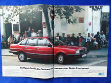 VW Santana GX - Werbeanzeige Reklame Advertisement 1983 __ (339