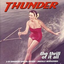 Thrill Of It All - Thunder (2004, CD NIEUW)2 DISC SET