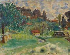 Bonnard Pierre Landscape Of Cagnes Canvas 16 x 20  #5429