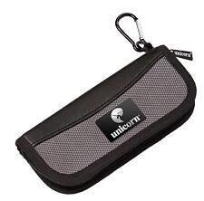 UNICORN PRO MIDI BLACK DARTS CASE WALLET - Small and Compact - Black