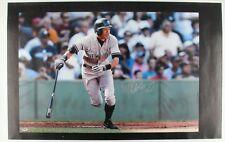 "New listing Ichiro Suzuki Signed Yankees 24"" x 39"" Photo on Canvas w/ PSA/DNA Coa"