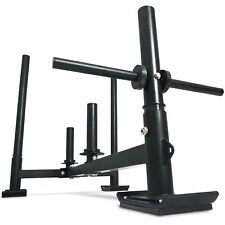 Titan Fitness HD Weight Sled w/ Shoes Low Push Pull Heavy High Training
