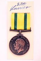 WW1 GEORGE V MILITARY TERRITORIAL FORCE WAR MEDAL FOR VOLUNTARY SERVICE OVERSEAS