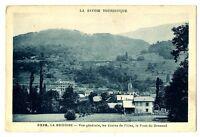 CPA 73 Savoie La Bridoire vue générale Ecoles de filles et Pont de Grenand