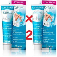 2 x Eveline Just Epil 3min Fast-Acting Depilatory Cream for Legs Aloe Vera 250ml