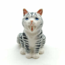 NEW MINIATURE TIGER GREY CAT CLIMB IN LADDER TO CATCH THE MINI MOUSE *Mint*