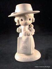 "Precious Moments Seek And Ye Shall Find"" Porcelain Figurine E-0105 00000501"