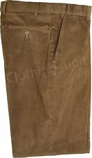 C1 Mens Smart Quality Expandable  Needle Cords/Corduroy Casual Trousers  32-46