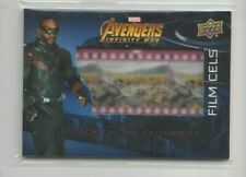 2018 Upper Deck Marvel Avengers Infinity War Film Cell Trading Card #FC12