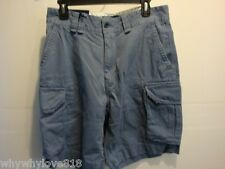 NWT NEW Polo Ralph Lauren Men's Classic Cargo Shorts Blueberry Size 33