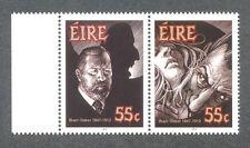 Irlanda-Bram Stoker-Drácula conjuntos de Literatura estampillada sin montar o nunca montada
