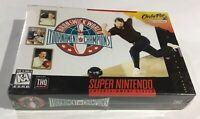 Rare First Print Full Color Bowling Super Nintendo SNES BRAND NEW FACTORY SEALED
