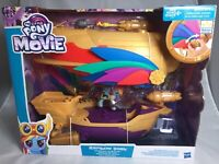 My Little Pony The Movie Rainbow Dash Swashbuckler Pirate Airship Playset Figure