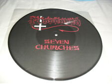 POSSESSED -SEVEN CHURCHES- AWESOME VERY RARE DEATH METAL VINYL LP PICTURE DISC