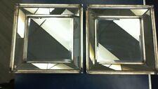 Uttermost 13555 B Davion Squares - 18 inch Square Mirror (Set of 2)
