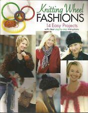 Knitting Wheel Fashions 14 Easy Projects Leisure Arts 4372 PB 2006