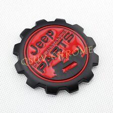 Matte Matt Jeep Performance Parts Metal Emblem Badge For Jeep Vehicles Wrangler