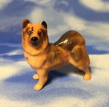 Htf Vintage Miniature Royal Doulton Shibu Ino Chow Dog Figurine K15 New
