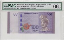 ZB 0000336 LOW NUMBER REPLACEMENT RM100 Zeti PMG 66 EPQ Malaysia
