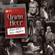 Access All Areas 5014797891654 by Uriah Heep CD With DVD
