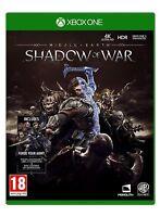Middle-Earth: Shadow of War (Xbox One) NUEVO PRECINTADO