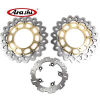 For Yamaha YZF R1 2004 2005 2006 YZF-R1 Front Rear Brake Disc Rotors Set Gold