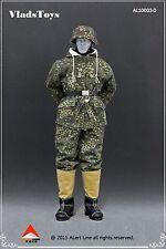 Alert Line 1:6 German Snow Reversible Cotton Padded Jacket Dark Pea Dot AL10003D