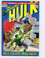 Incredible Hulk #154 Marvel 1972