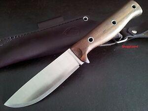 Condor Swamp Romper Knife + Leather Sheath Survival Hunting Bushcraft Camp