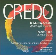 ROBERT SUND AND TWELVE CANADIAN CHOIRS - CREDO - CD - NEW