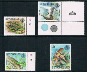 "Seychelles - 1989 Sea Life Issues - ""New Values"" - SG 732-738 [SC # -Decrpt] MNH"