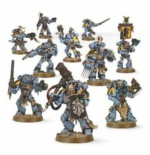 Warhammer 40000 53-06 Space Wolves PACK 10x mini figures Kit chenilles 48 post