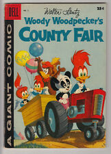 WOODY WOODPECKER'S COUNTY FAIR # 2 Dell Giant 1958 Andy Panda FINE 6.0