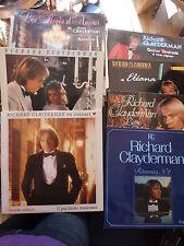 lot de 7 albums - 8 disques de Richard Clayderman