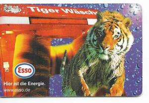 RARE / CARTE TELEPHONIQUE - TIGRE : TIGER ( PUB ESSO ) / PHONECARD TELEFONKARTE