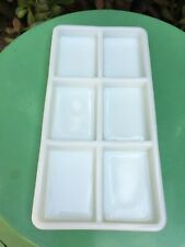Antique Milk Glass Dental Trays #20 by The American Cabinet Co Wisconsin 1930's