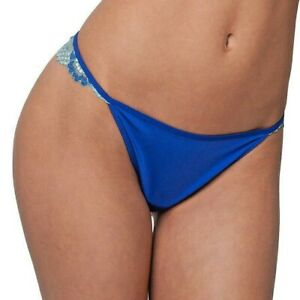 VS Candie's Smooth Satin Sexy Thong Dream Angels G-String Bikini Panty Size M