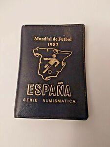 España CARTERA MUNDIAL FUTBOL Colección 6 Monedas 1982