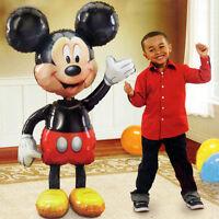 "Jumbo Birthday Foil Balloon Mickey Mouse Airwalker 52"" Party Decoration Favor"