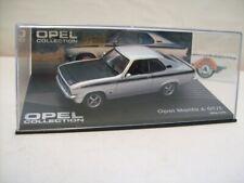 Opel Manta A GT/E, 1974, silver/black, IXO 1:43