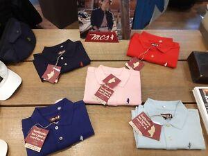 Polo shirt uomo man cotton cotone estate VARI COLORI MCS MARLBORO CLASSICS