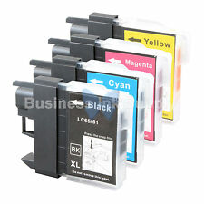 4 PACK LC65 Ink Set for Brother MFC-5890CN MFC-5895CW MFC-6490CW MFC-6890CDW