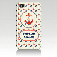 Vintage Voyage (Anchor and Steering Wheel) iPhone 4/4S Case for iPhone 4s