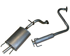 ROVER 25 1.4 EXHAUST CENTRE AND REAR SILENCER BOXES 99-05 100% QUALITY