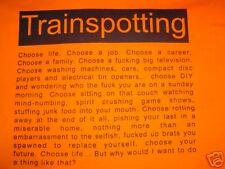 Elige la vida Trainspotting Camiseta Tamaño Mediano