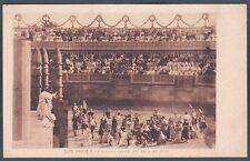 QUO VADIS 14 FILM CINEMA MUTO SILENT MOVIE 1912 Cartolina NON FOTOGRAFICA