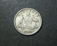1946 Australian Sixpence,