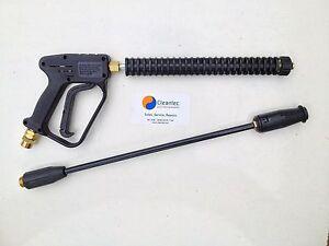 Wolf 200 Bar 3000PSI Petrol Pressure Power Washer Trigger Gun Variable Lance