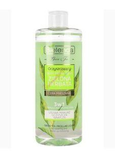 Bielenda Green Tea Cleaning Micellar Liquid 3in1 for Mixed Skin 500ml
